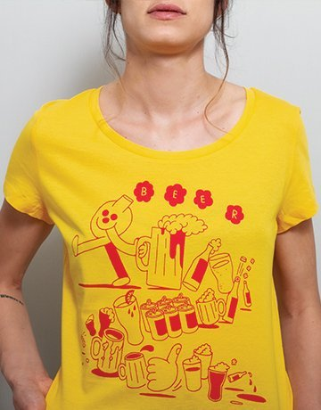 womens funny beer t-shirt