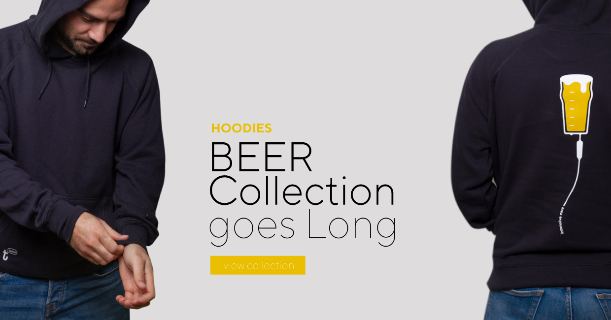 hoodies t-shirst tee-tales beer autumn winter collection