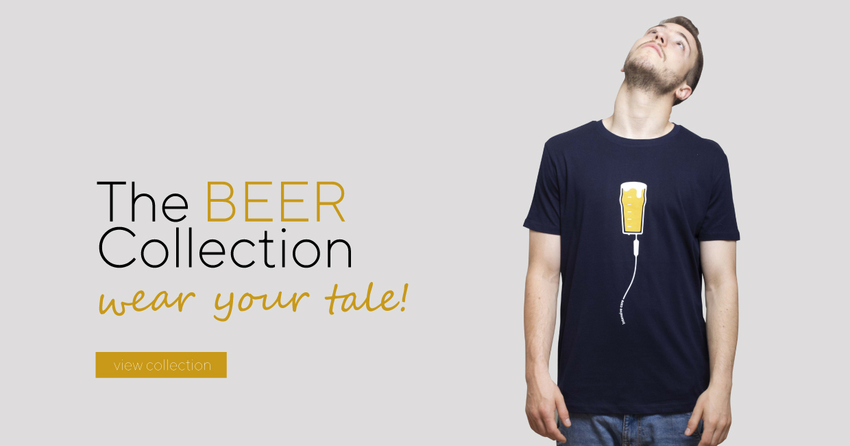 Tee Shirt BEER COLLECTION