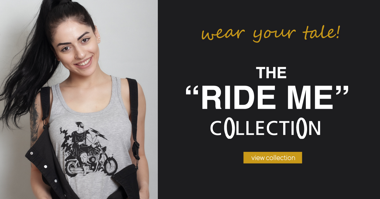 Ride Me T Shirt Slider